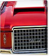 1972 Oldsmobile Grille Canvas Print