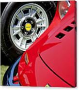 1973 Ferrari 246 Gts Dino Emblem 5 Canvas Print