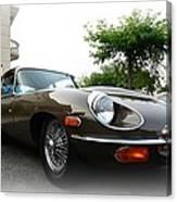 1973 Jaguar Type E Canvas Print