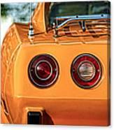 1977 Chevrolet Corvette Canvas Print