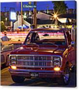 1979 Dodge Li'l Red Express Truck Canvas Print