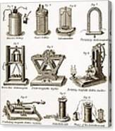 19th Century Electrical Equipment Canvas Print