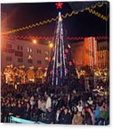 1st International Christmas Festival Canvas Print