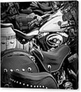 2 - Harley Davidson Series Canvas Print