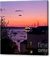 Sunrise Falmouth Docks Canvas Print