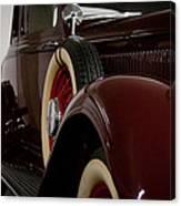 1933 Dodge Dp Rs 2 Door Coupe Canvas Print