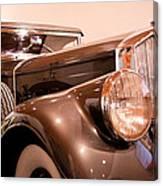 1933 Pierce-arrow 12 Model 12412 Labaron Convertible Coupe Canvas Print