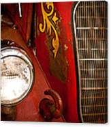1941 Hahn Open Cab Fire Engine Canvas Print