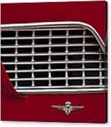 1960 Maserati 3500 Gt Coupe Emblem Canvas Print