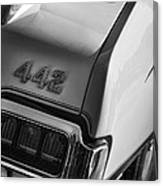 1972 Oldsmobile Cutlass 442 Canvas Print