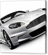 2009 Aston Martin Dbs Canvas Print