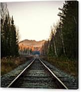 Adirondack Tracks Canvas Print