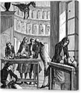 Albrecht Von Haller Canvas Print