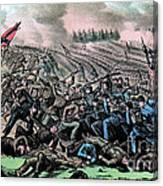 American Civil War, Battle Canvas Print