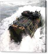 An Amphibious Assault Vehicle Canvas Print