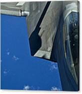 An F-22 Raptor In Flight Canvas Print