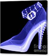 An X-ray Of A High Heel Shoe Canvas Print