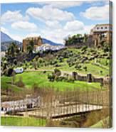 Andalusia Landscape Canvas Print