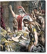 Antony & Cleopatra Canvas Print