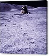 Apollo Mission 17 Canvas Print