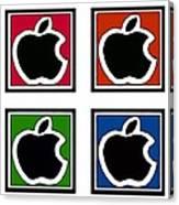 Apple Colors Canvas Print