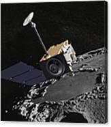 Artist Concept Of The Lunar Canvas Print