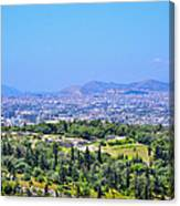 Athens Greece Canvas Print