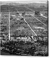 Atomic Bomb Destruction, Hiroshima Canvas Print