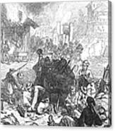 Balkan Insurgency, 1876 Canvas Print