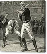 Baseball, 1888 Canvas Print