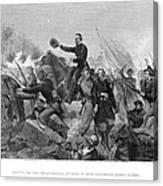 Battle Of Spotsylvania Canvas Print
