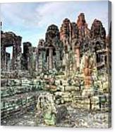 Bayon Temple Canvas Print