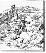 Boer War, 1899 Canvas Print