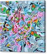 Bosque Walk Canvas Print