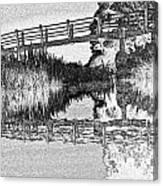 Bridge Across The River Canvas Print