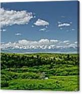 Bridger Mountain View Canvas Print