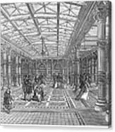 Brighton Aquarium, 1872 Canvas Print