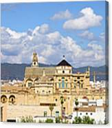 Cathedral Mosque Of Cordoba Canvas Print
