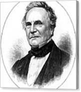 Charles Babbage, English Computer Canvas Print