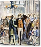 Charles Sumner (1811-1874) Canvas Print