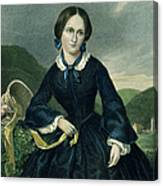Charlotte Bront� Canvas Print