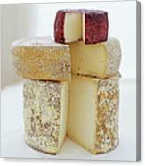 Cheese Selection Canvas Print