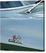 Chevrolet Corvette Emblem Canvas Print