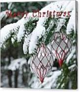 Christmas Card 2194 Canvas Print