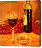 Christmas Poster Canvas Print