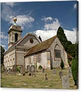 Church Of St. Lawrence West Wycombe  Canvas Print