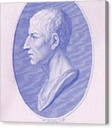 Cicero, Roman Philosopher Canvas Print