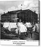 Civil War: Libby Prison Canvas Print