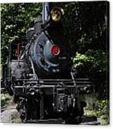 Climax Geared Locomotive Canvas Print