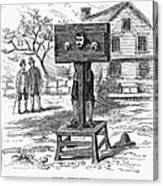 Colonial Pillory - To License For Professional Use Visit Granger.com Canvas Print